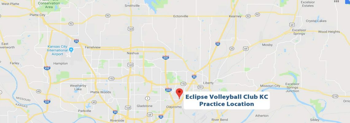 North kansas city's eclipse volleyball practice location