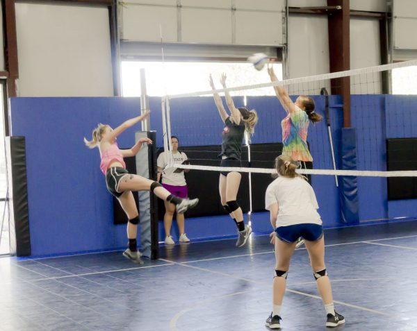 volleyball open gym/tryouts may 2018