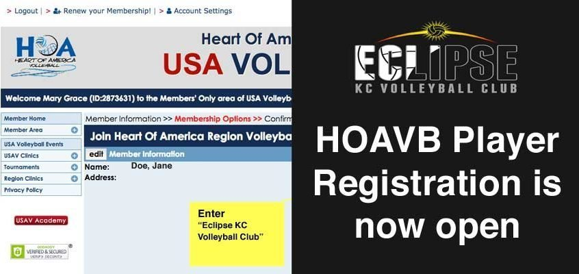 hoavb player registration