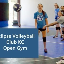 Eclipse volleyball club KC open gym - april 2019