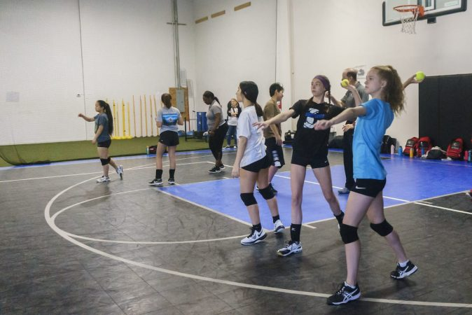 May 2019 volleyball Training Session - Kansas City north's Eclipse Volleyball Club KC - 15u using hitting aid