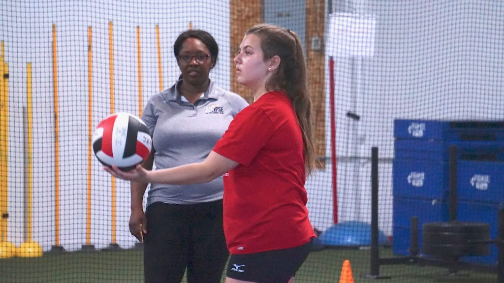 sign up for private volleyball lessons - eclipse volleyball club kc