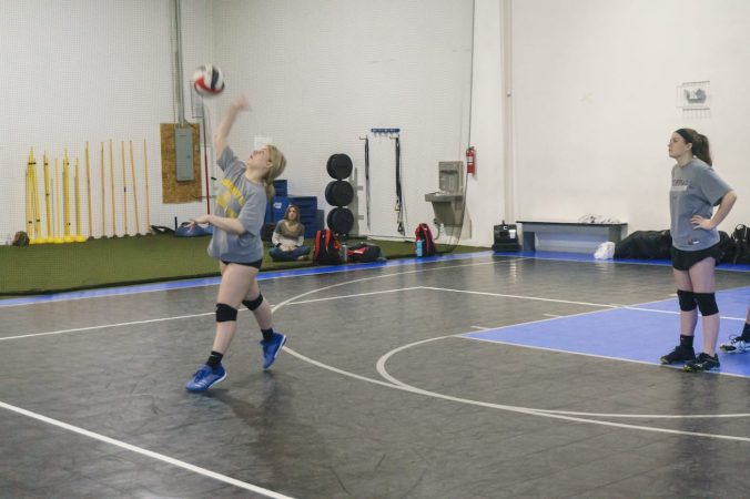 May 2019 volleyball Training Session - Kansas City north's Eclipse Volleyball Club KC - 16u backrow hitting