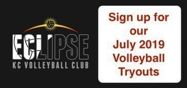 Kansas City North's Eclipse Volleyball tryouts July 2019