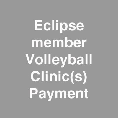 eclipse member volleyball hitting clinic