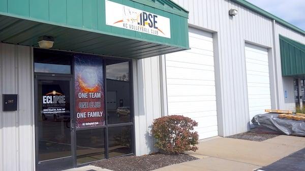 Practice Location - Eclipse Volleyball Club KC | Front door
