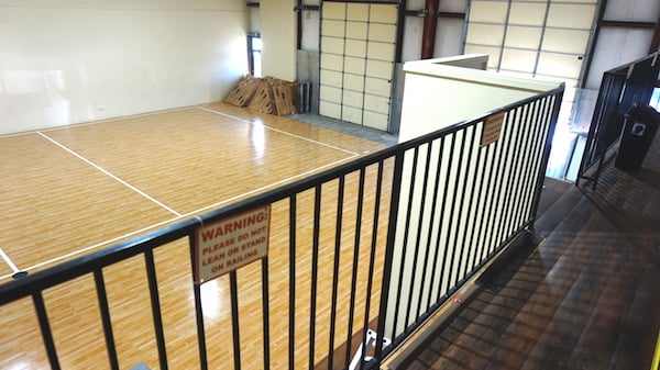 Practice Location Volleyball Court view below - Eclipse Volleyball Club KC