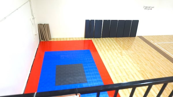 Practice Location Workout Area - Eclipse Volleyball Club KC