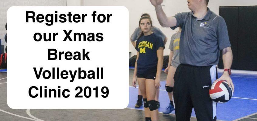 Xmas Break Volleyball clinic 2019
