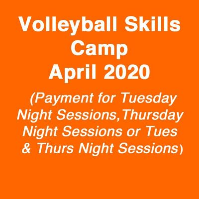volleyball camp april 2020 - online fee payment