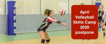 postponing april 2020 volleyball skills camp