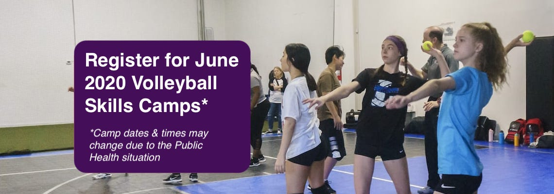 June 2020 Volleyball Camps