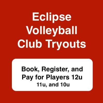 Club Volleyball Tryout 2020 players 12u 11u 10u