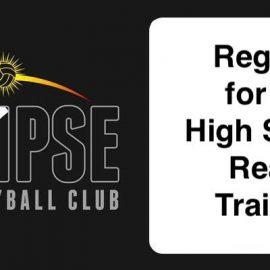 high school ready training - August 2020