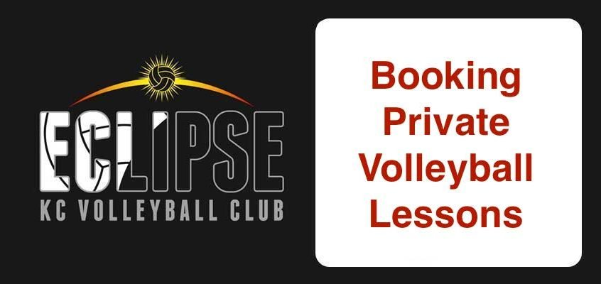 booking volleyball lessons - kansas city north's eclipse volleyball club kc