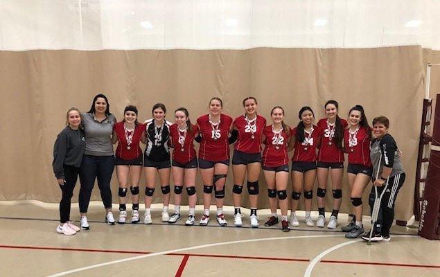 recognizing eclipse volleyball club 18-1 team