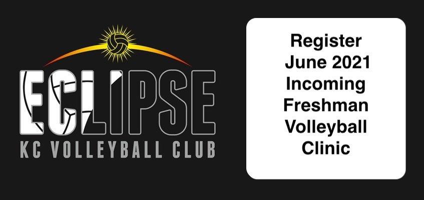 freshman volleyball clinic - June 2021