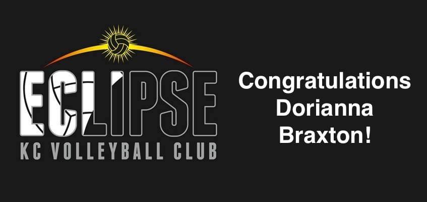 Congratulations Dorianna Braxton - post head picture