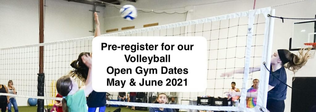 Volleyball Open Gym May June 2021 - Pre-register with Eclipse volleyball Club KC